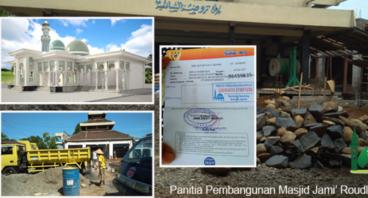 Masjid Roudlotus Syafi'iyah Bantrung sendang