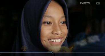 Bantu Muniroh & Puluhan Anak Banten Lanjut Sekolah