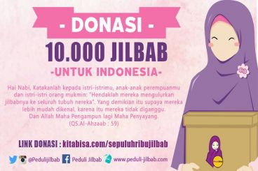Sepuluh Ribu Jilbab Untuk Indonesia