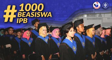 #1000BeasiswaIPB Bantu bayar UKT lanjut kuliah