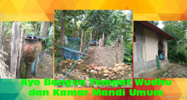 Tempat Wudhu dan Kamar Mandi Umum untuk Desa Lemer