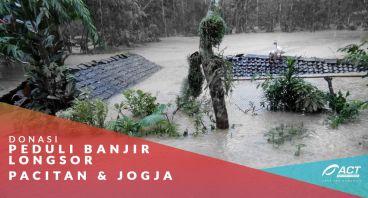 Donasi Peduli Banjir Pacitan dan Jogja