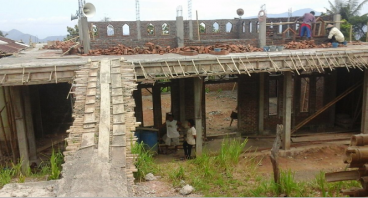 Pembangunan Masjid Di pelosok Flores Timur Adonara