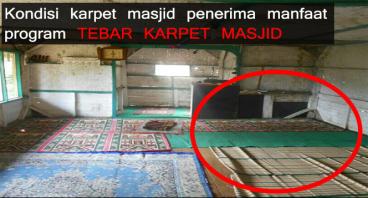 Gelar Karpet Masjid untuk 100 Masjid di Pelosok