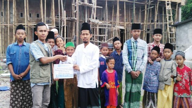 Bangun Pesantren Hafidz Al Qur'an Yatim dan Dhuafa