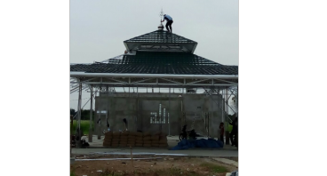 Bantu Pembangunan Masjid Raya Kota Harapan Indah