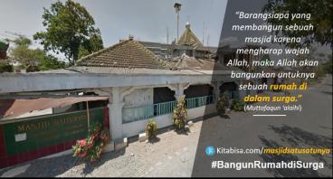 Bantu Bangun Masjid Satu Satunya di Desa Ini