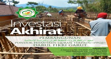 Pondok Pesantren Quran Terpadu Darul Fikri Garut