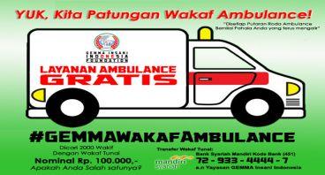 Yuk, Kita Patungan Ambulance!
