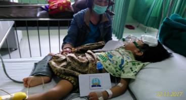 Bantu Nayla Lawan Pneumonia