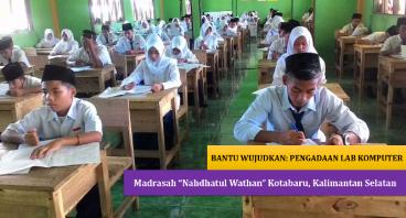 """Lab Komputer Madrasah """"Nahdhatul Wathan"""" Kotabaru"""