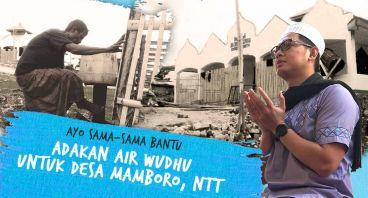 Air Wudhu Untuk Desa Mamboro