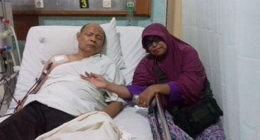 Bantu Pak Hadi Untuk Cuci Darah