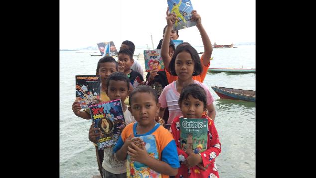 Wujudkan Perpustakaan di Kampung Tua, Pulau Batam
