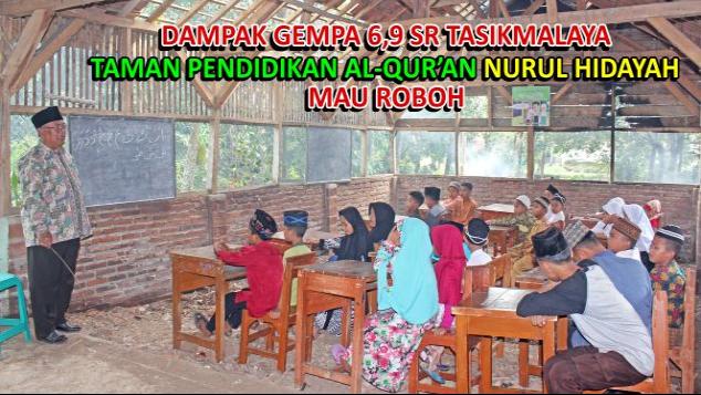 Selamatkan Taman Pendidikan Al-Qur'an Yg Mau Roboh
