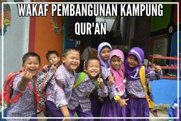 Patungan Bangun Kampung Qur'an Gratis di Depok