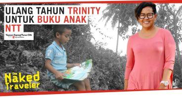 Ulang Tahun Trinity Untuk Buku  Anak NTT