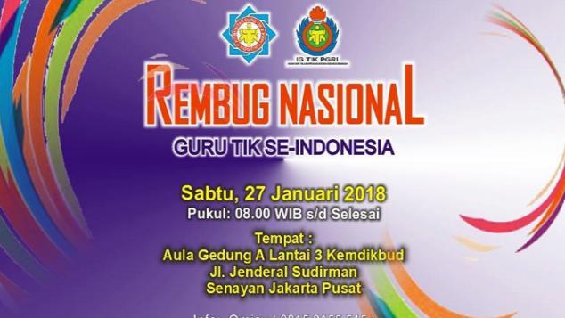 Donasi Perjuangan Guru TIK Se-Indonesia