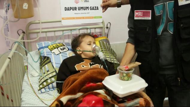 Dapur Umum Rumah Sakit Gaza