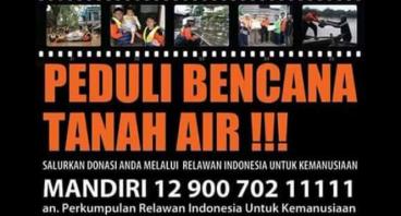ayo bantu bencana tanah air