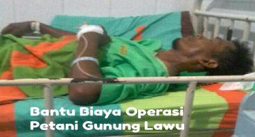 Biaya Operasi Bp Parno Petani dari Tawangmangu