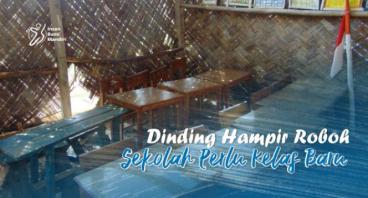 DINDING HAMPIR ROBOH, SEKOLAH PERLU KELAS BARU