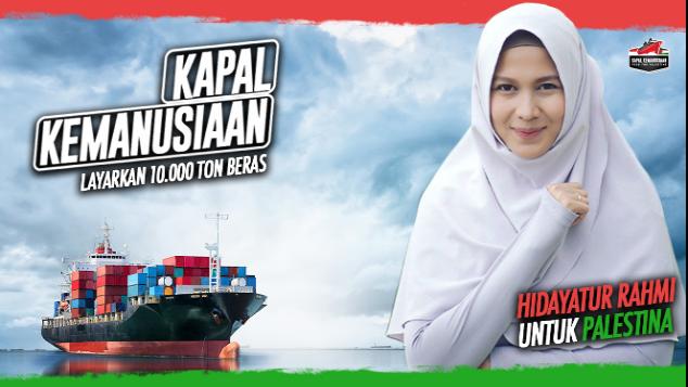 Hidayatur Rahmi untuk Kapal Kemanusiaan