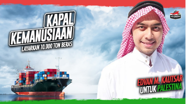 Edvan M Kautsar untuk Kapal Kemanusiaan
