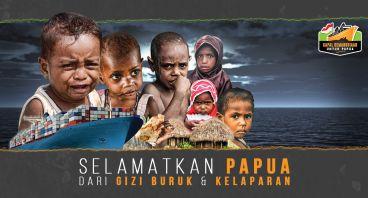 Selamatkan Anak-Anak Suku Asmat Dari Gizi Buruk