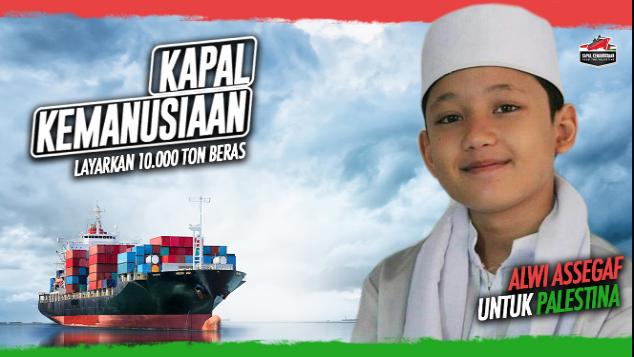 Alwi Assegaf untuk Kapal Kemanusiaan