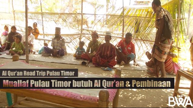 Muslim Minoritas Pulau Timor Menunggu Wakaf Anda!