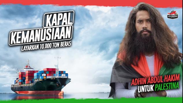 Adhin Abdul Hakim untuk Kapal Kemanusiaan