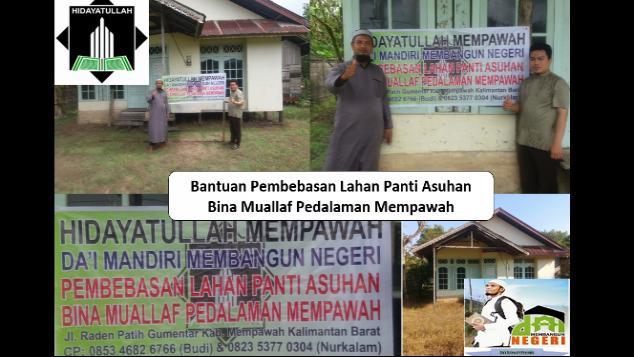 Bantu Ust.Afendi Pembelian Tanah Wakaf Anak Yatim