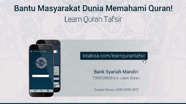 Ayo Dukung Learn Quran Tafsir