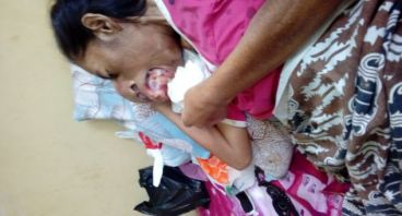 Donasi untuk oprasi ibu ramsah