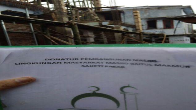 Galang Dana Pembangunan Mesjid