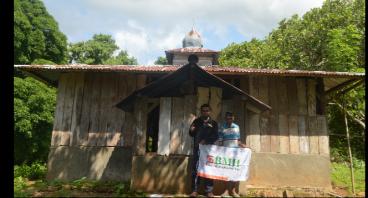Bangun Kembali Masjid Tureng NTT