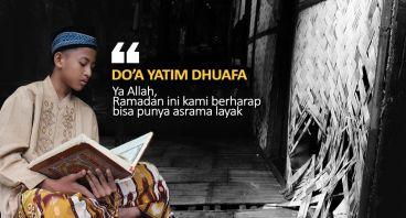 Bangun Pesantren Yatim Dhuafa yang Hampir Roboh