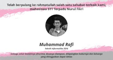 Hentikan Pendarahan Otak Muhammad Rafi