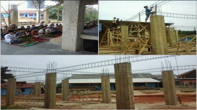 Membangun Masjid Panti Asuhan Husnul Amal