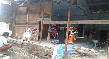 Pembangunan gereja HKBP  di Sumut