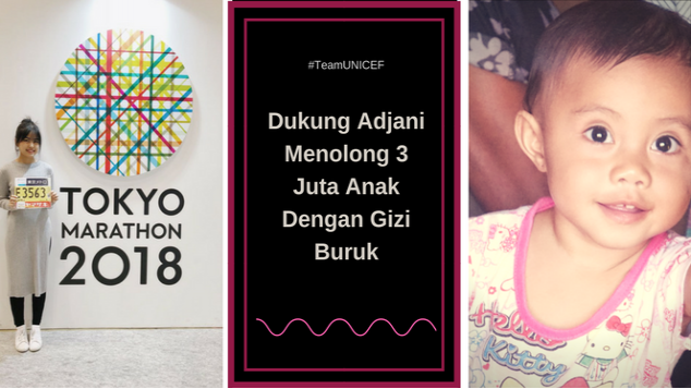 10 Kilometer dari Adjani untuk Anak Indonesia