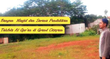 Pembangunan Masjid di Grand Citayam