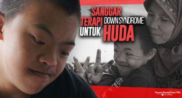 Sanggar Terapi untuk Huda, Down Syndrome