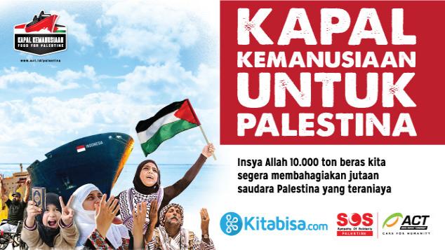 Bersama Layarkan Kapal Kemanusiaan Palestina