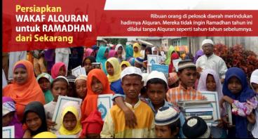 Berbagi 18.000 Alquran untuk Pelosok Negeri