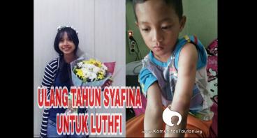 Ulang Tahun Syafina Untuk Luthfi