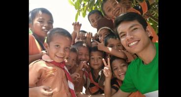 Dukung Ronaldi Mengabdi di Perbatasan Indonesia