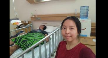 Bantu Ayu Sembuhkan Penyakit Kompikasi Ayahnya