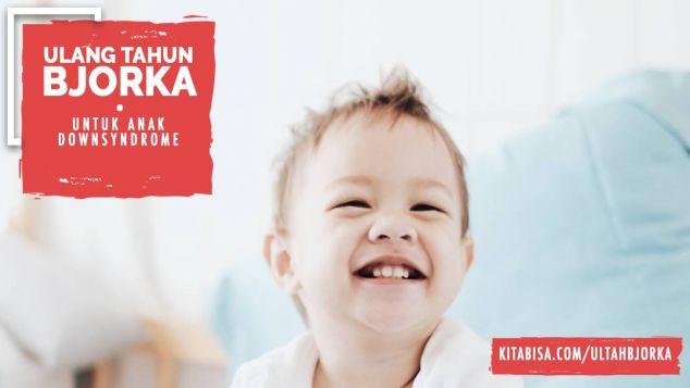 Ultah Bjorka Bantu Anak Hebat Berkebutuhan Khusus
